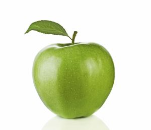 green-apple leaf right
